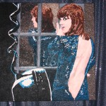TricksNBeaversLounge - Klute glitter painting