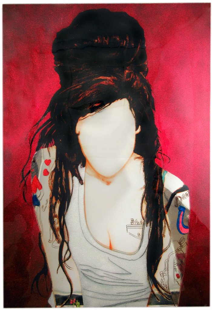 Amy Winehouse by Trixie & Beever
